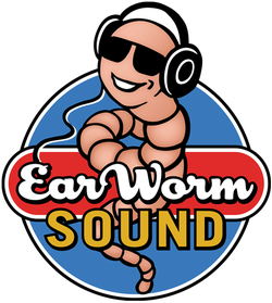 EarWorm Sound audio post production logo